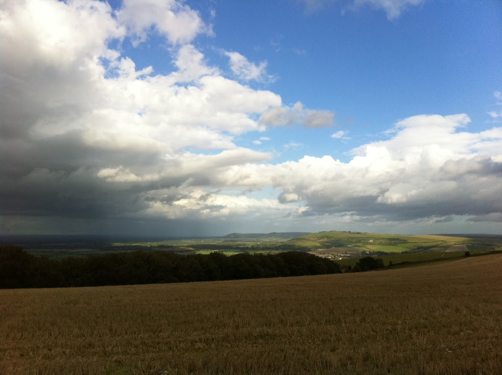 Running on the South Downs