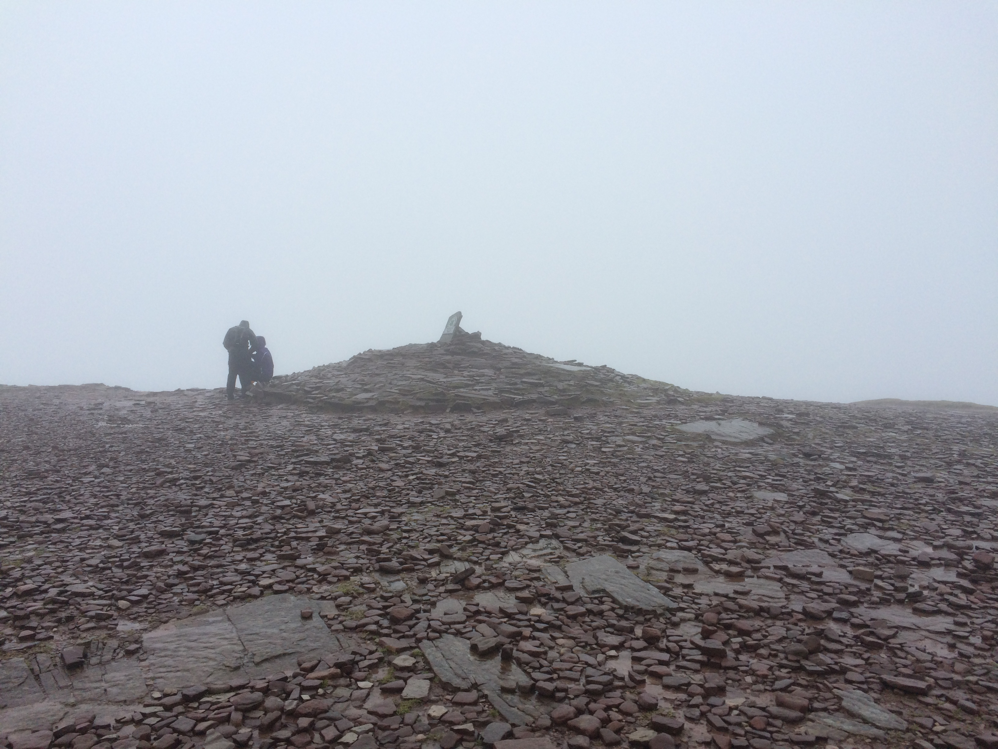 The top of Pen Y Fan